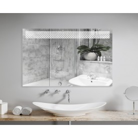 Зеркало Континент Мистери Люкс 80х60 с подсветкой ЗЛП153