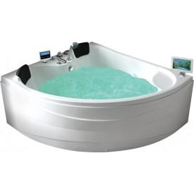 Ванна с изливом Gemy 150х150 G9041 O