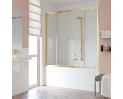 Душевая шторка на ванную Z2V 180 09 01 VegasGlass