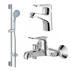 Комплект для ванной комнаты Bravat Eco-D 3 в 1  F00314C