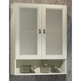 Шкаф Клио 63 подвесной 2 створчатый, с матовым стеклом Opadiris 00-00000447