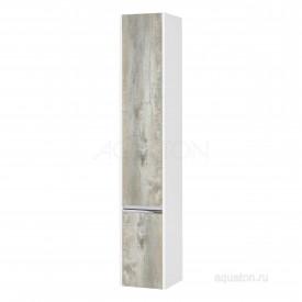 Шкаф - колонна Капри левый бетон пайн Aquaton 1A230503KPDAL