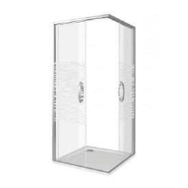 Душевое ограждение ANTARES CR-100-W-CH GOOD DOOR АН00014