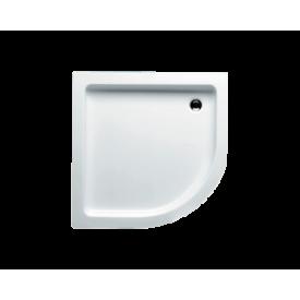Акриловый душевой поддон Riho 207 90x90 белый 1/4 круга R550 DA2100500000000