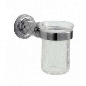 Стакан для зубных щеток Boheme Murano Cristal 10904-CRST-CH
