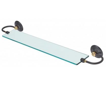 Полка стеклянная ART&MAX AM-2147-Nero/Do-Ant