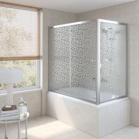 Душевая шторка на ванную ZV+ZVF 150*70 08 R03 VegasGlass