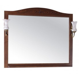 Зеркало ASB Салерно 105 9692-OREH Цвет орех