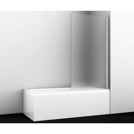 48P01-80R Matt glass Стеклянная шторка на ванну WasserKRAFT