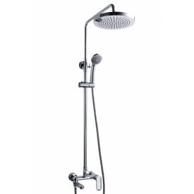 Душевая колонна со смесителем для ванны Bravat Opal C F6125183CP-A1-RUS