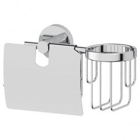 Держатель туалетной бумаги с крышкой и освежителя воздуха (хром) Artwelle HAR 051