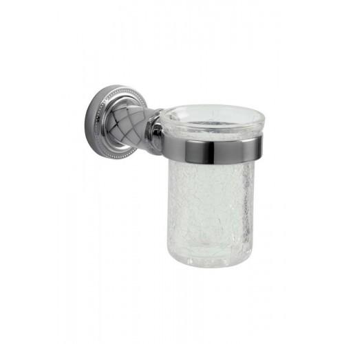 Настенный стакан для зуб. щеток Boheme Murano 10904-CR