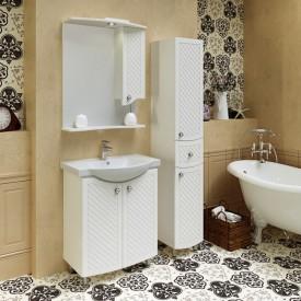 Комплект мебели для ванной Runo Милано 65