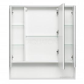 Зеркальный шкаф Инфинити 76 белый Aquaton 1A192102IF010