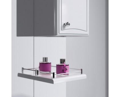 Барселона панель с зеркалом, шкафчиком и подсветкой Ba.02.55 AQWELLA
