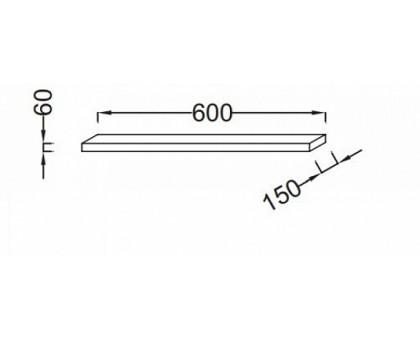 Полочка 60 см Jacob Delafon EB500-E10
