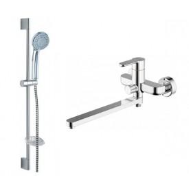 Комплект для ванной комнаты Bravat Stream 2 в 1  F00411C