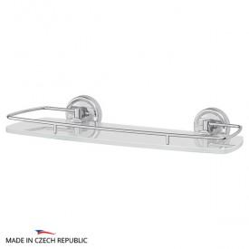 Полка с держателями (матовое стекло; хром) FBS ELL 014 40 см