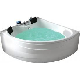 Ванна с изливом Gemy 150х150 G9041 K