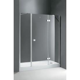 Душевая дверь Cezares CRYSTAL-S-B-13-80+60/60-C-Cr-L