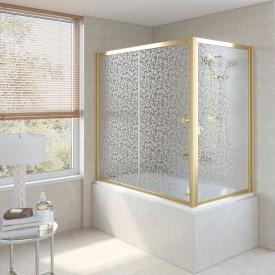 Душевая шторка на ванную ZV+ZVF 160*85 09 R03 VegasGlass