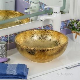 Раковина MELANA MLN-J2056 (золото)