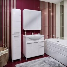 Комплект мебели для ванной Runo Эрика 80