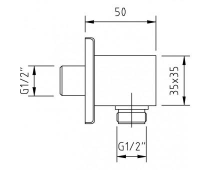 Шланговое подключение Clever Bimini 98001