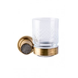 стакан настенный Boheme RoyalCristal 10924-BR