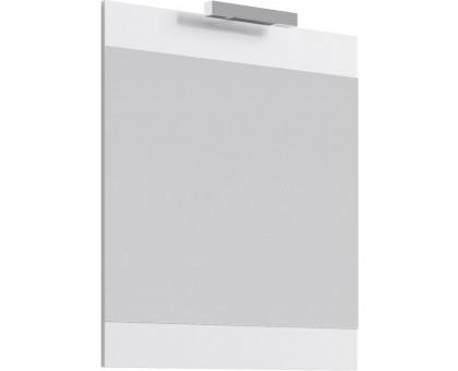 Бригпанель с зеркалом и светильником, белый Br.02.07/W AQWELLA