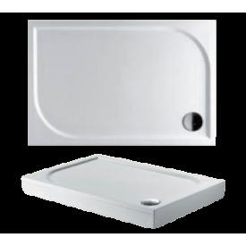 Душевой поддон из литьевого мрамора Riho Kolping DB34 120x90 белый + сифон DB3400500000000
