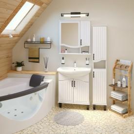 Комплект мебели для ванной Runo Марсель 70