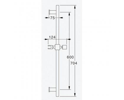 Душевой гранитур GZ 8628