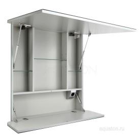Зеркальный шкаф Валенсия 90 белый Aquaton 1A125102VA010