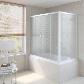 Душевая шторка на ванную Z2V+ZVF 180*70 01 R05 R VegasGlass
