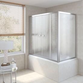 Душевая шторка на ванную Z2V+ZVF 150*75 08 02 VegasGlass