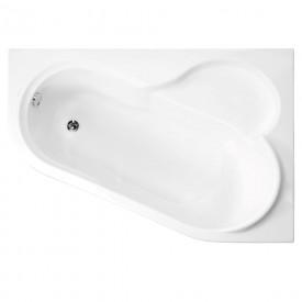 Акриловая ванна VAGNERPLAST SELENA 147 Right VPBA141SEL3PE-04
