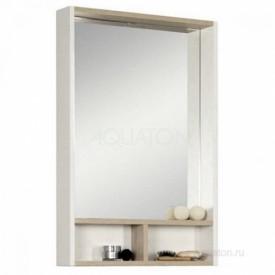 Зеркало Йорк 55 белый, ясень фабрик Aquaton 1A173202YOAV0