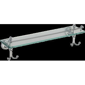 GZ 31007 Полка стеклянная с крючками