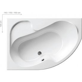Акриловая ванна Ravak ROSA CK01000000 105 L белая