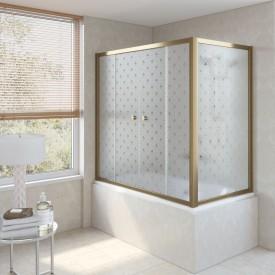 Душевая шторка на ванную Z2V+ZVF 180*80 02М R05 L VegasGlass
