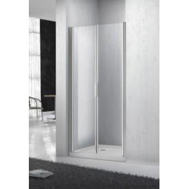 Дверь для душа прозрачная BelBagno SELA-B-2-115-C-Cr