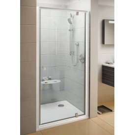 Душевая дверь Ravak Pivot 03G70101Z1 90 белый прозрачный