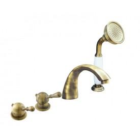 Смеситель RAV Slezаk для ванной, на 4-е отверстия, переключатель керамический L069.5PSM