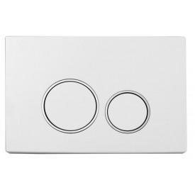 Кнопка для инсталляции пластик Boheme 661 белый