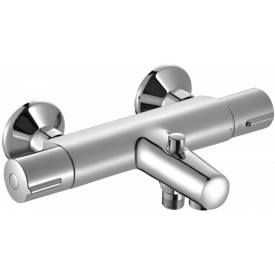 Термостатический настенный смеситель для ванны/душа Jacob Delafon E45714-CP
