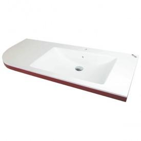 Раковина-столешница Kolpa San Lux Concept 120x50 Белая L