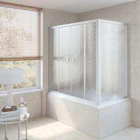 Душевая шторка на ванную Z2V+ZVF 180*80 07 02 VegasGlass