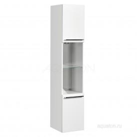 Шкаф - колонна Севилья подвесная белый жемчуг Aquaton 1A126603SEG30