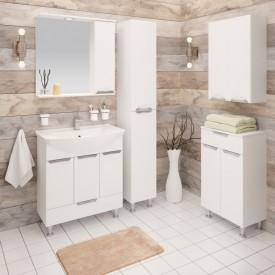 Комплект мебели для ванной Runo Барселона 75